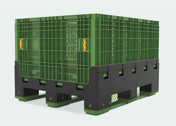 cumpără Plastic container pliabil ECBN80 / Container pliabil din material plastic ECBN80