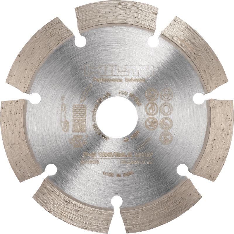 Алмазный отрезной диск P-S 125/22.2  универсал