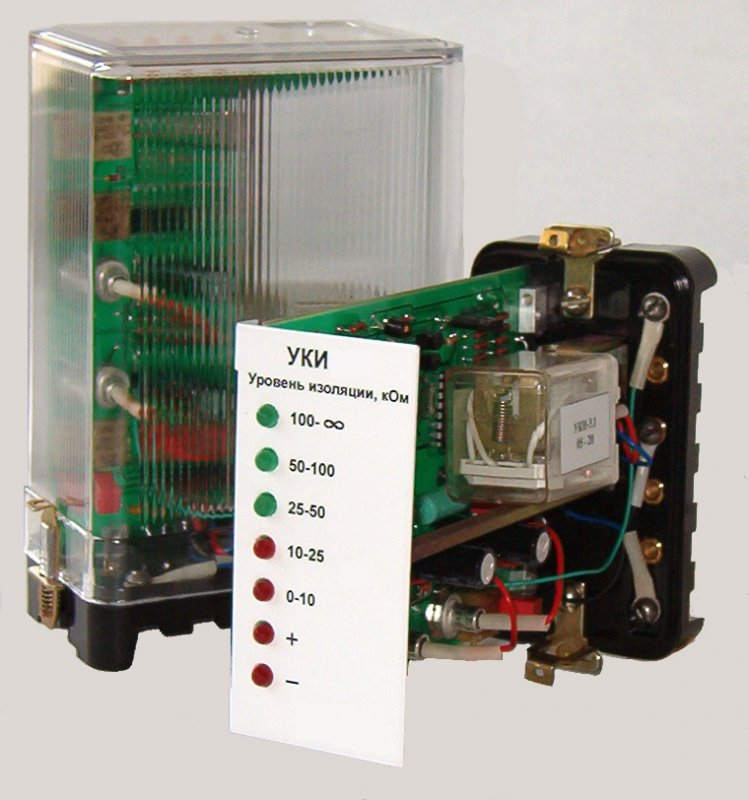 Buy The control unit of isolation of UKI for chains of the constant and straightened current voltage of 220 V