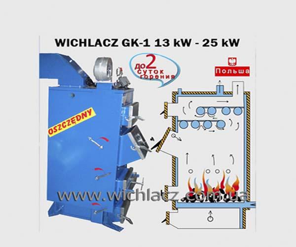 Купить Твердотопливный котел Wichlacz GK1 65 kW +
