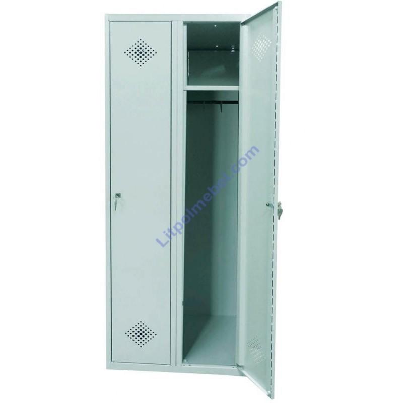Гардеробный металлический шкаф - разборная конструкция Sum 420 R