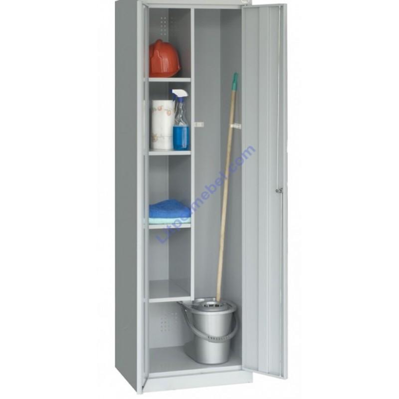 Купить Хозяйственный металлический шкаф для уборочного инвентаря SMD 62