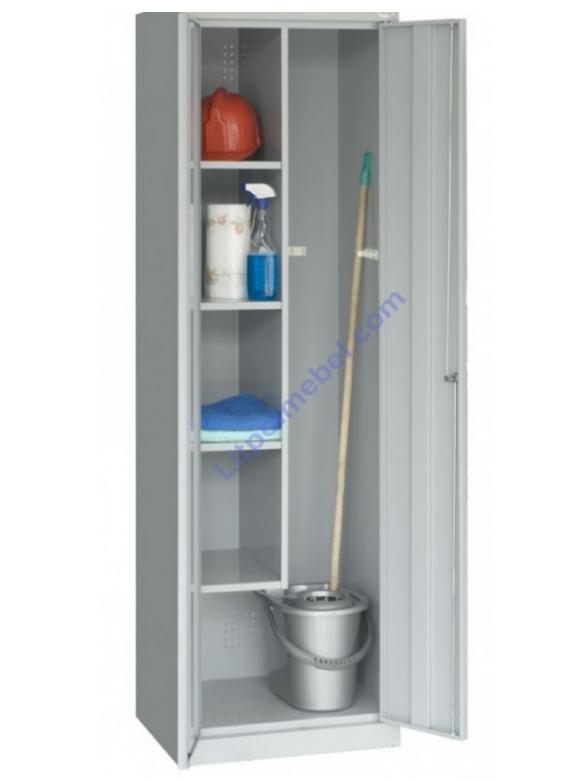Купить Хозяйственный металлический шкаф для уборочного инвентаря SMD 82