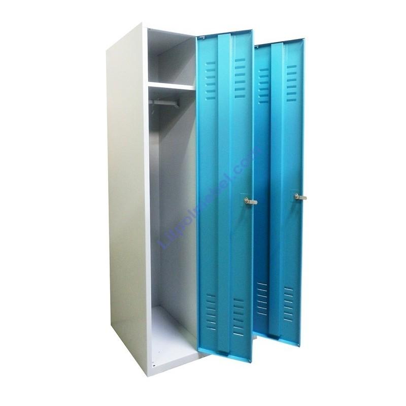 Детский металлический шкафчик гардеробный SumC 320