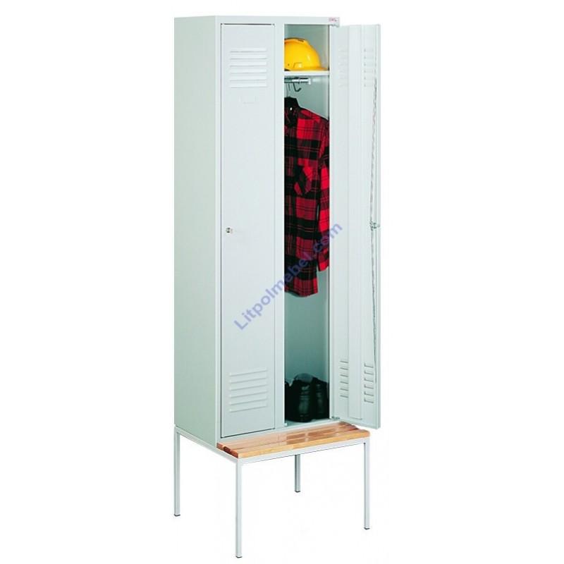 Скамейка-подставка под гардеробные шкафы SUM 320/SUS 322 P 321