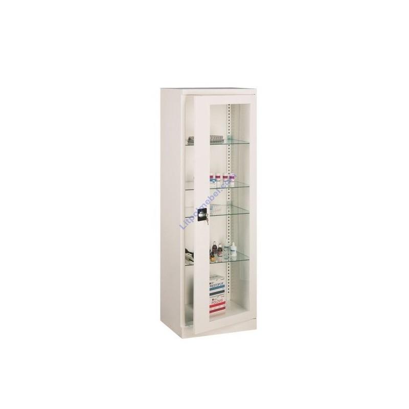 Купить Шкаф металлический медицинский с переставными полками Sml 101