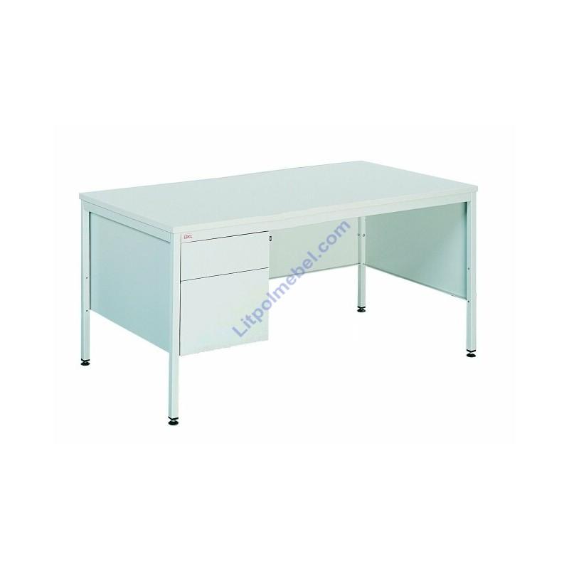 Купить Письменный металлический стол с двумя выдвижными ящиками Bim 032
