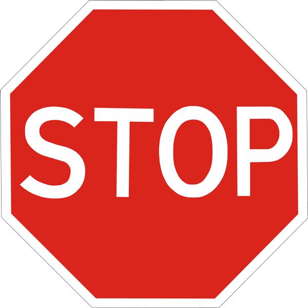 Купить Знак приоритета Движение без остановки запрещено 2.2