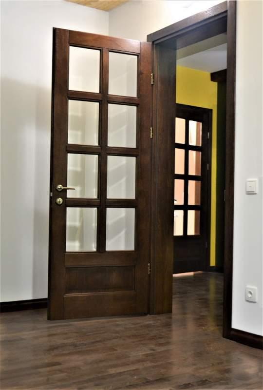 Двери межкомнатные со стеклом Taket SM 01