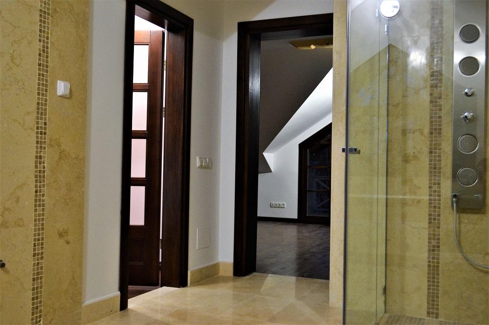 Купить Двери межкомнатные распашные со стеклом Taket 4