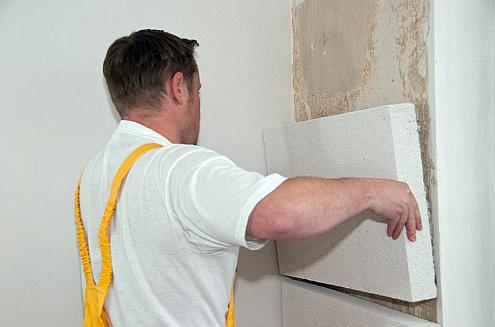 Купить Теплоизоляция для стен материалом YTONG MULTIPOR