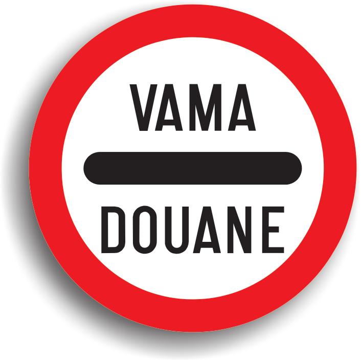 cumpără Indicator de interzicere sau restrictie «Vama» 3.19.1