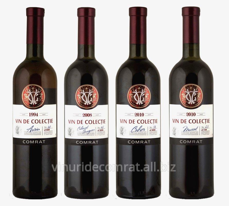 Купить Коллекционные вина (вина выдержанные, высочайшего качества, золотые медалисты, десертные, сухие))