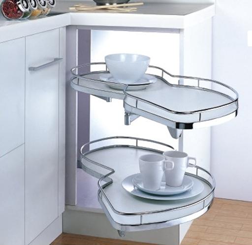 Купить Кухонные аксессуары - Угловой механизм с плавным открыванием