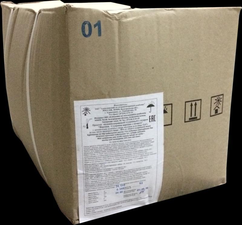 Молоко сгущенное  с сахаром  Густияр.8,5%,ТУ,(25кг) Bag-in-Box