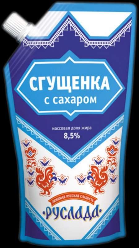 Купить Сгущенка с сахаром 8,5% (650гр) Руслада
