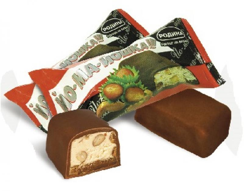 Конфеты, Bomboane de ciocolata IOMAIOSHKA 3,5kg