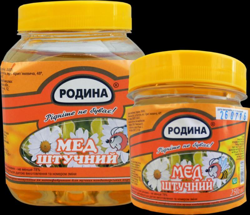Мед в Молдове, Miere artificiala 250gr (pet), 30 buc