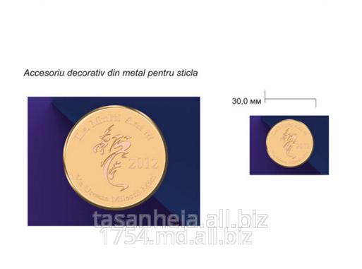 Металлические аксессуары для изделий из стекла