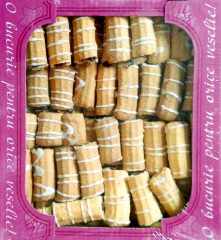 Печенье Biscuiti Bastonase cu Implutura 3kg