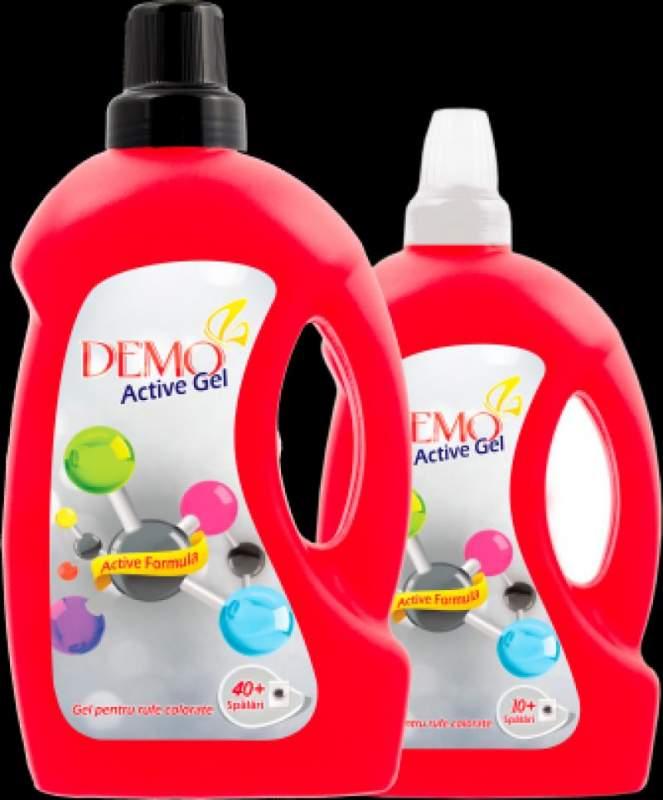 Гель для стирки Detergent gel rufe Demo 4 L Color