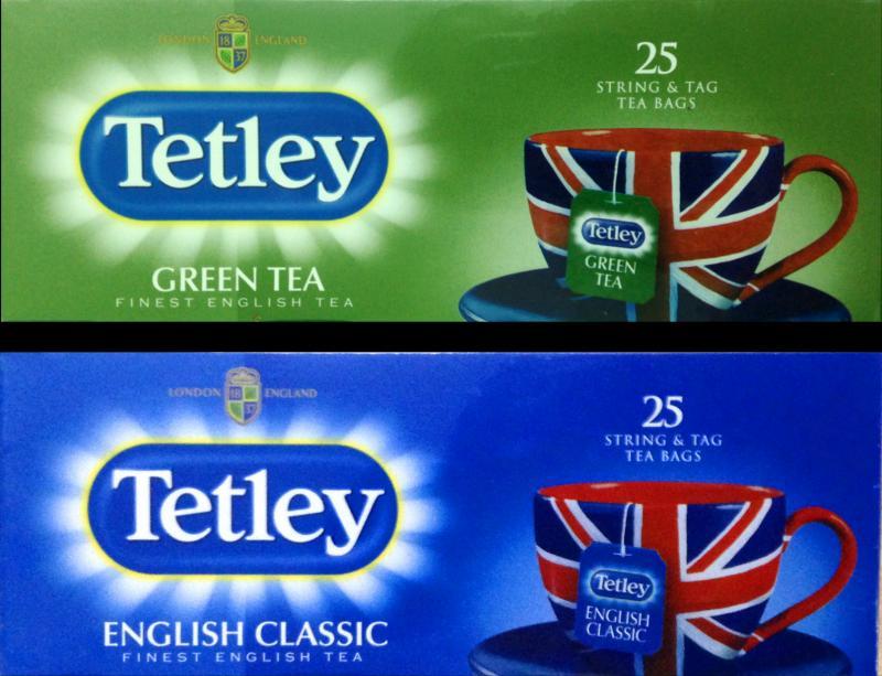 Чай Ceai Tetley Green S&T 25S TEA bags 12*25*2g