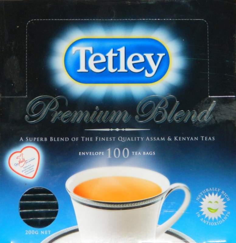 Чай Ceai Tetley Premium Envelope S&T100S Tea bags 6*100g