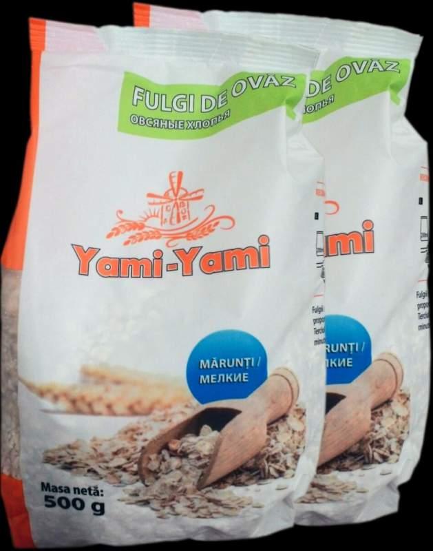 Хлопья Fulgi de ovaz marunti Yami Yami 500g (p.p 8.62)