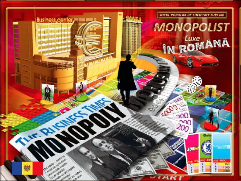 Купить Игра Joc de masa Monopolist (in romina)