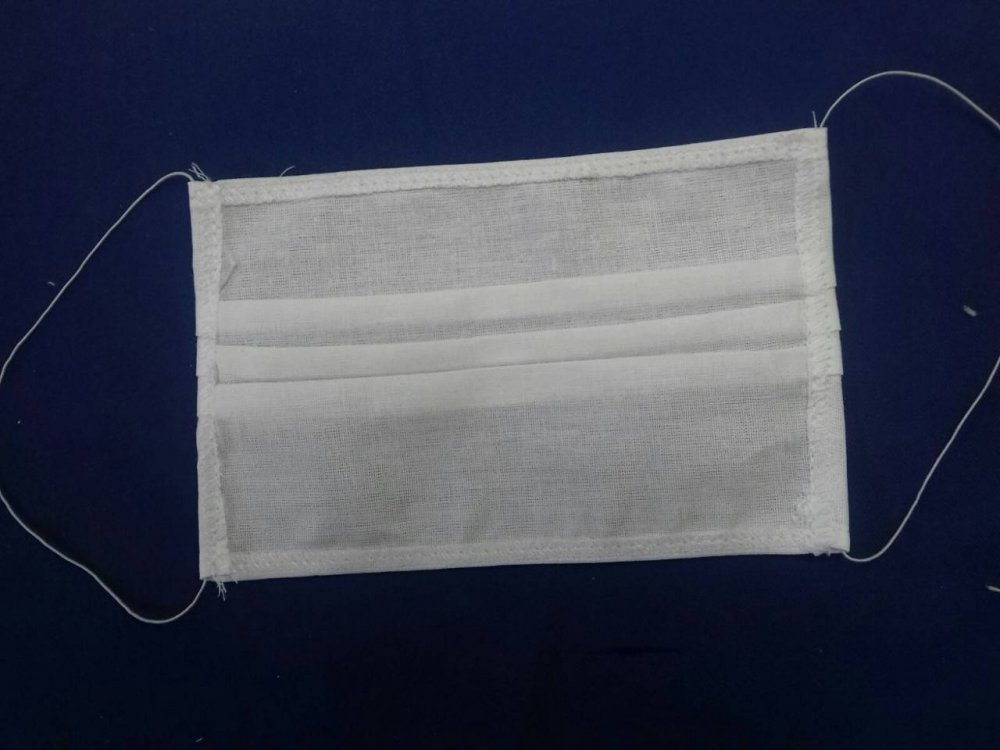 Medical masks SENSE disposables in the slings of three and four-layer