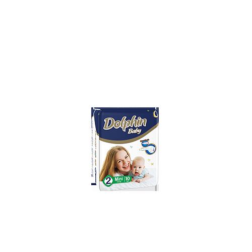 Подгузники Dolphin Стандартная упаковка Мини 3-6 Кг 12 Штук