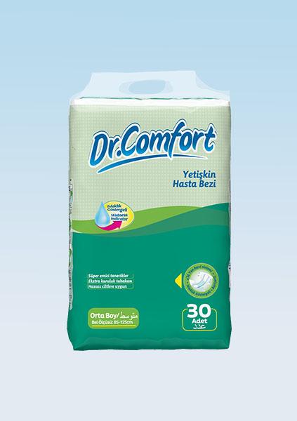 Подгузники для взрослых Dr.Comfort Jumbo упаковка 85-125 cm 30 Штук