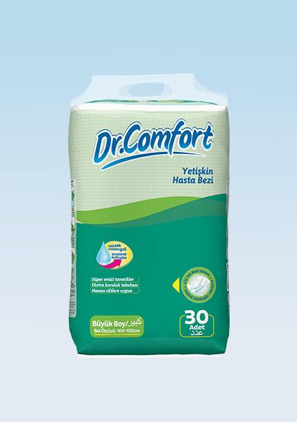 Подгузники для взрослых Dr.Comfort Jumbo упаковка 100 - 150 cm 30 Штук