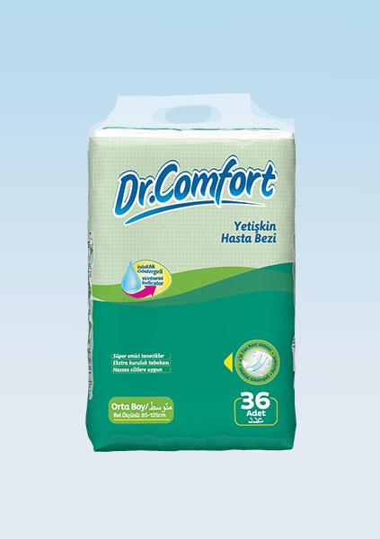 Подгузники для взрослых Dr.Comfort Jumbo упаковка 85-125 cm 36 Штук