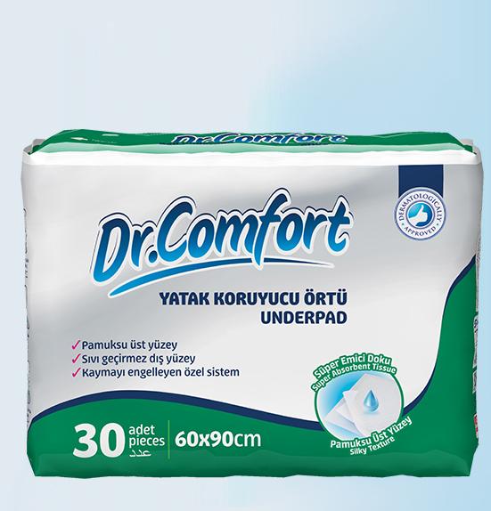 Впитывающие пеленки Dr.Comfort 60 x 90 30 Штук