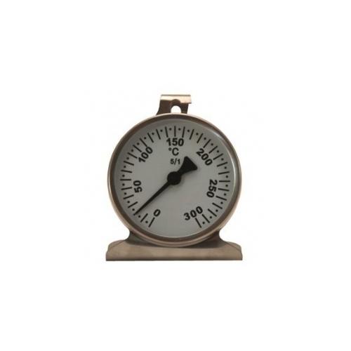 Термометр для духовки 0 + 300 ° C, биметаллический, нержавеющая сталь