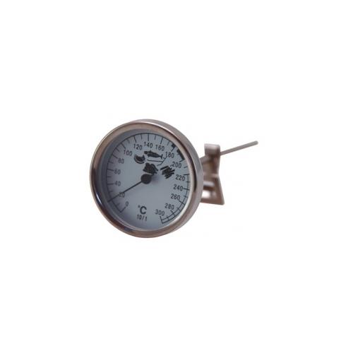 Биметаллический входной термометр диаметром 165 мм, 0 + 300 ° C