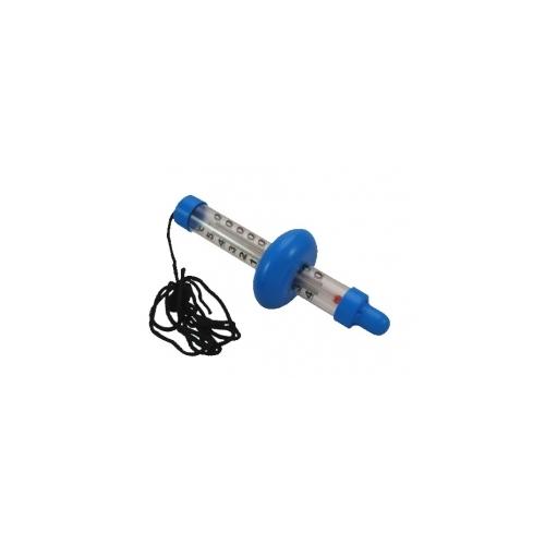 Термометр для бассейна -40 + 50 ° C, 195x60 мм, синий