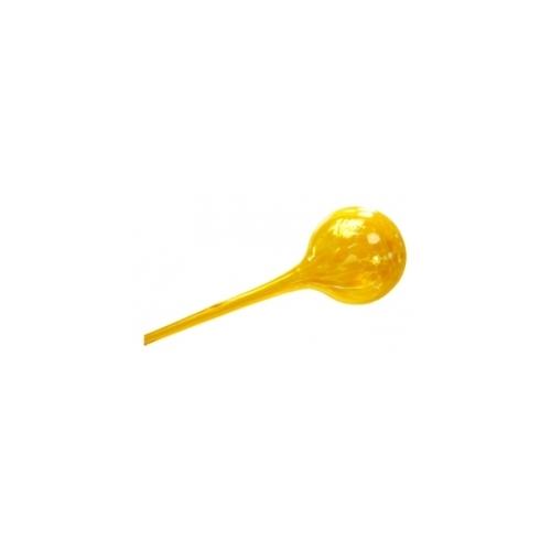 Стеклянная ирригационная сфера желтая