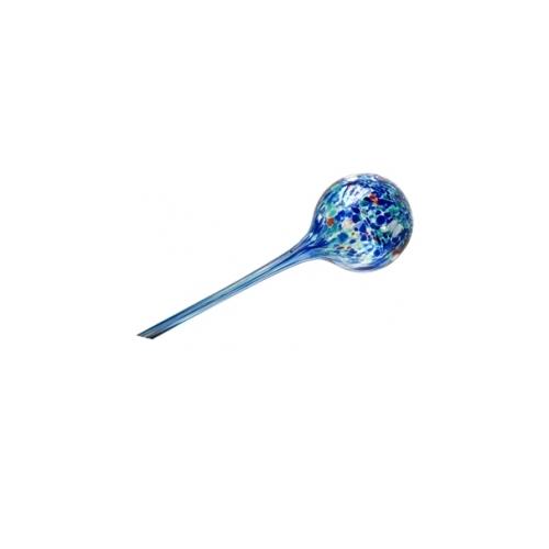 Стеклянная ирригационная сфера синяя отделка
