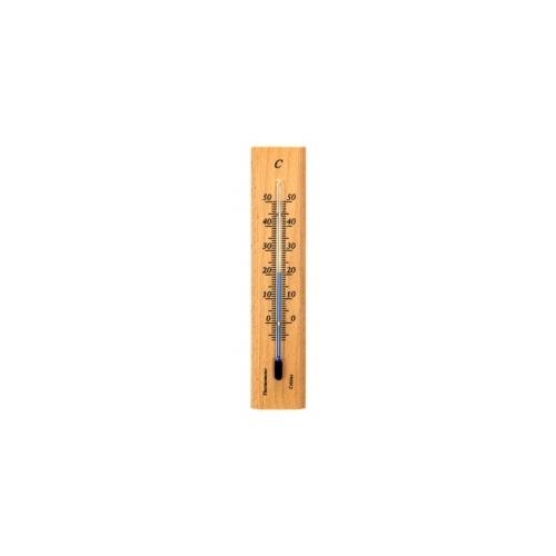 Купить Деревянный термометр 140х30 мм - натуральная древесина 101401