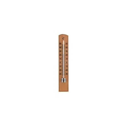 Комнатный термометр деревянный 200x35 мм - натуральная древесина 20581
