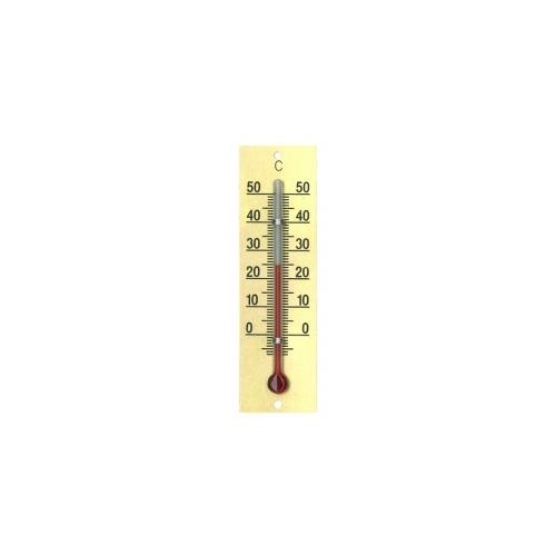 Комнатный термометр алюминий 77x22 мм-золото 772201