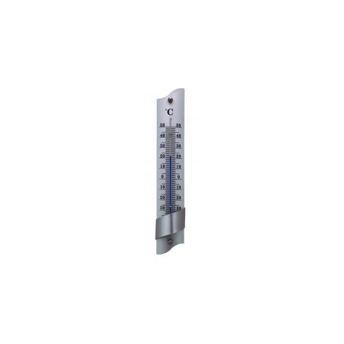 Универсальный алюминиевый термометр 215x40 мм-серебристый 66000