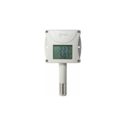 Веб-датчик-дистанционный термометр с гигрометром с интерфейсом Ethernet T7510