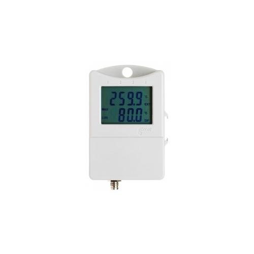 Двухканальный термометр для записи температуры с внутреннего датчика и внешнего S0122