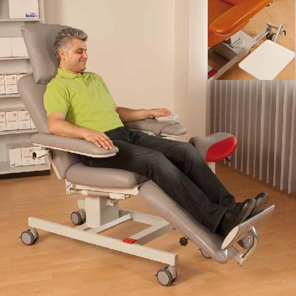 Buy Chair therapeutic BIONIC, execution option: BasicLine (with a hinged little table)
