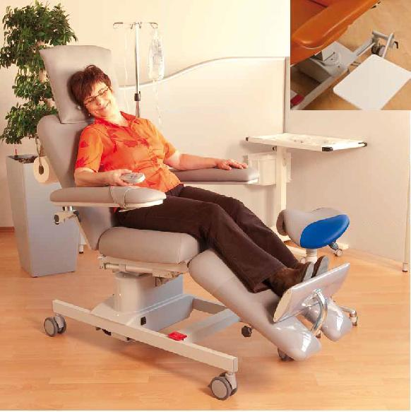 Buy Chair therapeutic BIONIC, execution option: UniversalLine (with a hinged little table)