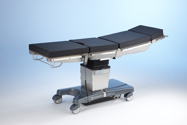 Buy The operating table Practico with the central section with shift of a table-top, with the electric drive (back section with a support for kidney operation, the foot section divided long, VEF mattresses, EUR rails)
