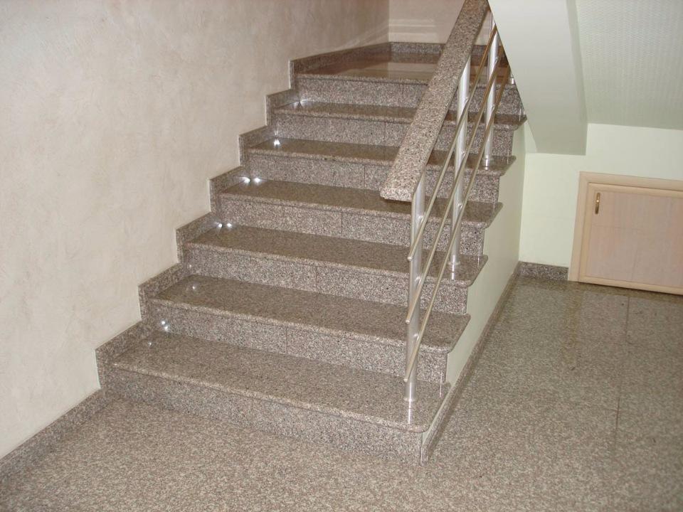 Купить Лестница гранитная 09